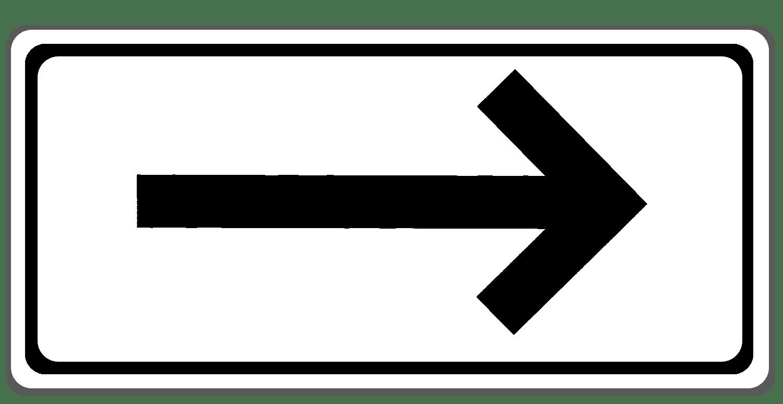 Verkehrszeichen 1000-20