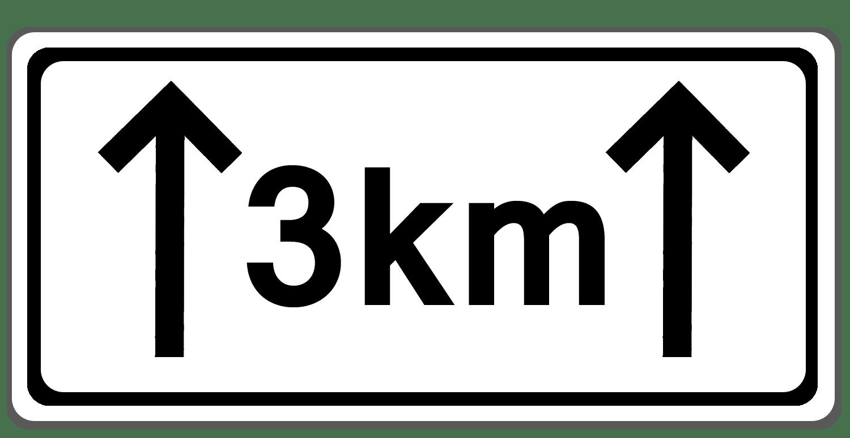Verkehrszeichen 1001-31