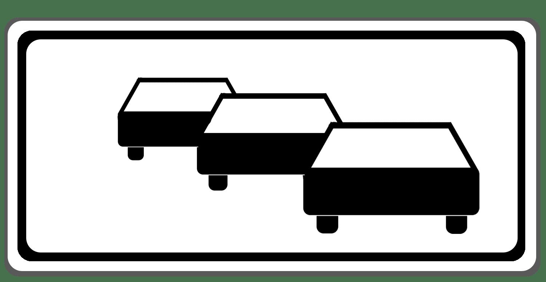 Verkehrszeichen 1006-38