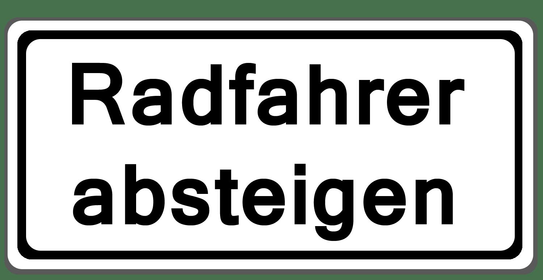 Verkehrszeichen 1012-32