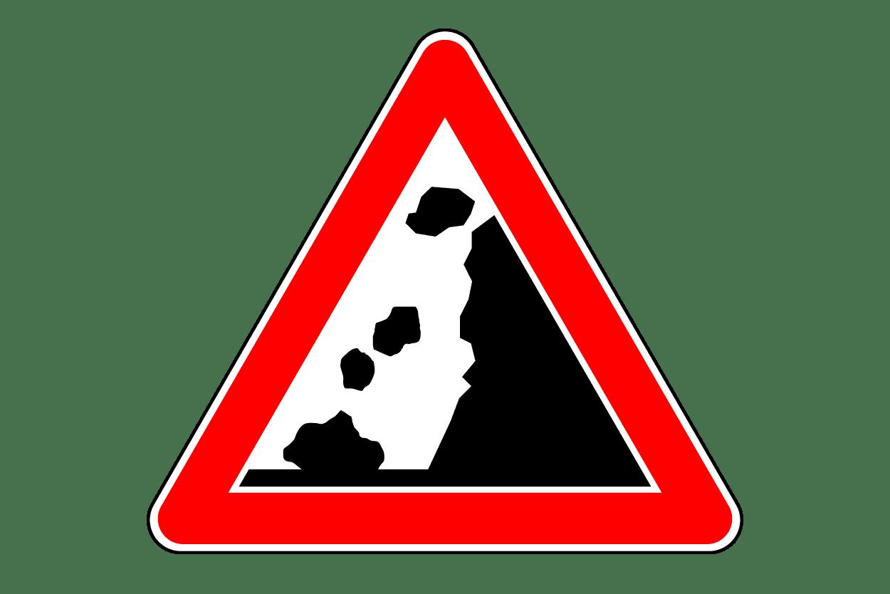 Verkehrszeichen 115