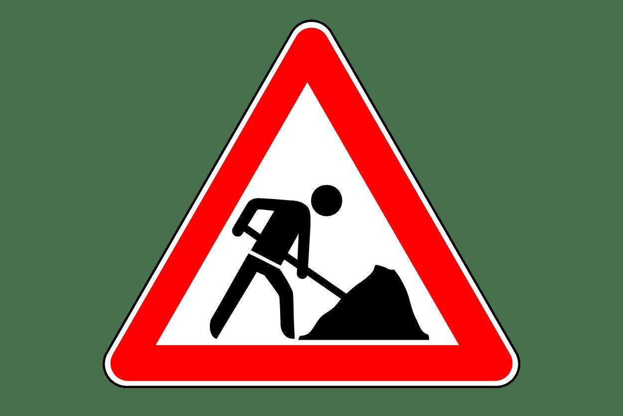Verkehrszeichen 123