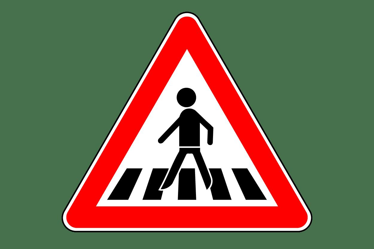 Verkehrszeichen 134