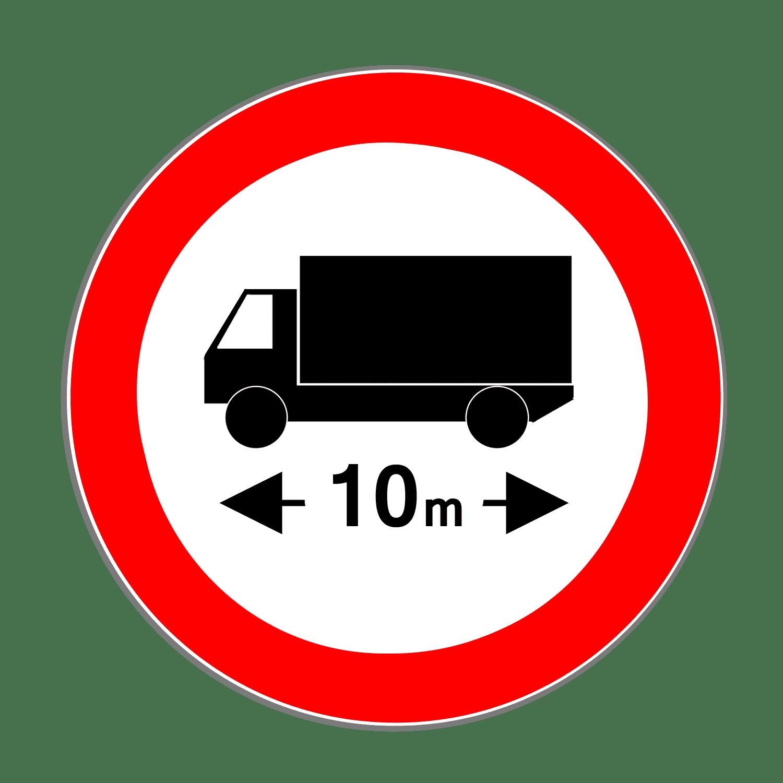 Verkehrszeichen 266