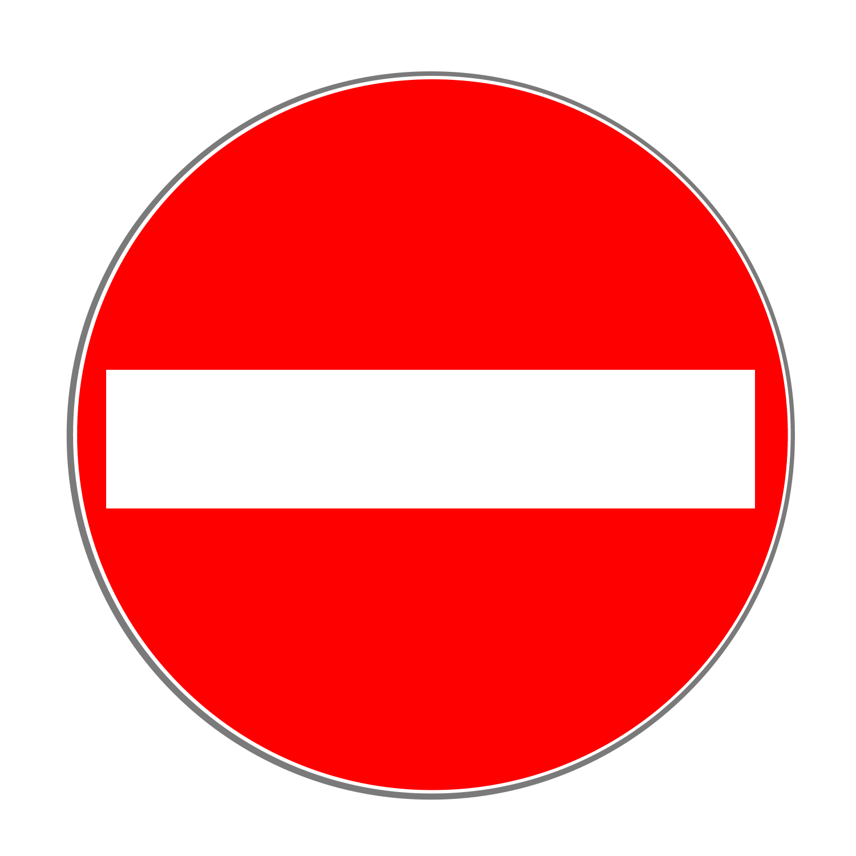 Verkehrszeichen 267