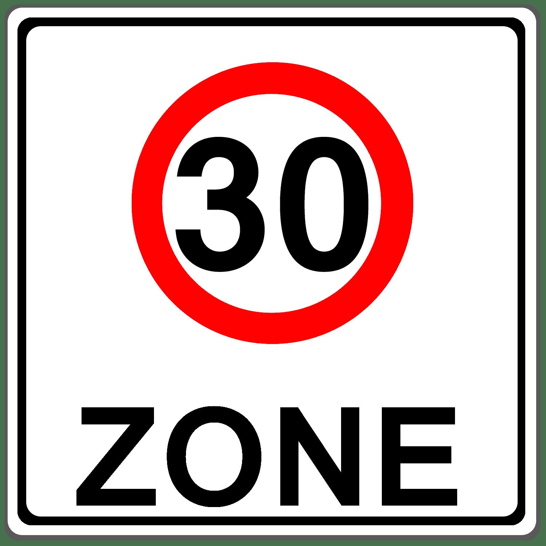 Verkehrszeichen 274-1