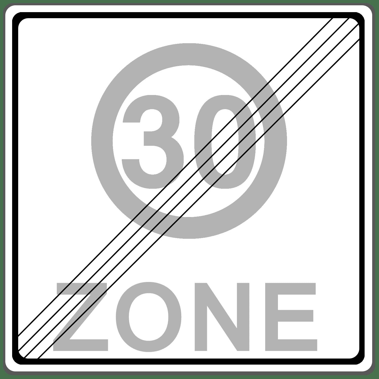 Verkehrszeichen 274-2