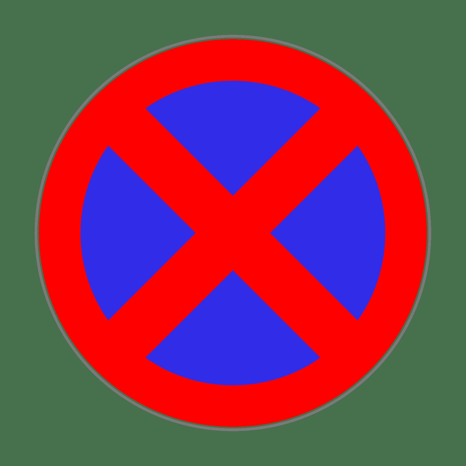 Verkehrszeichen 283