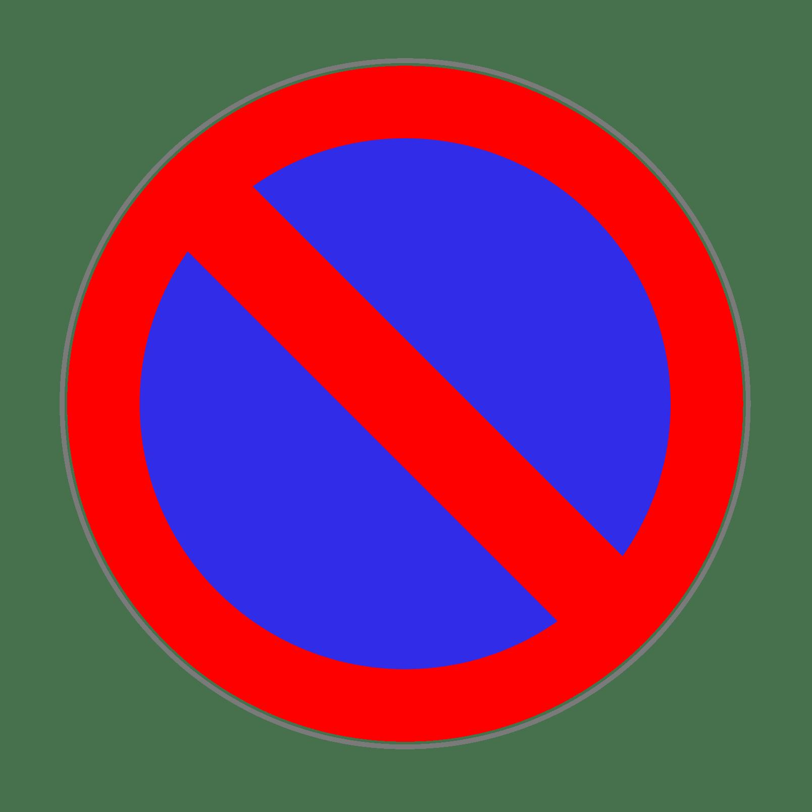 Verkehrszeichen 286