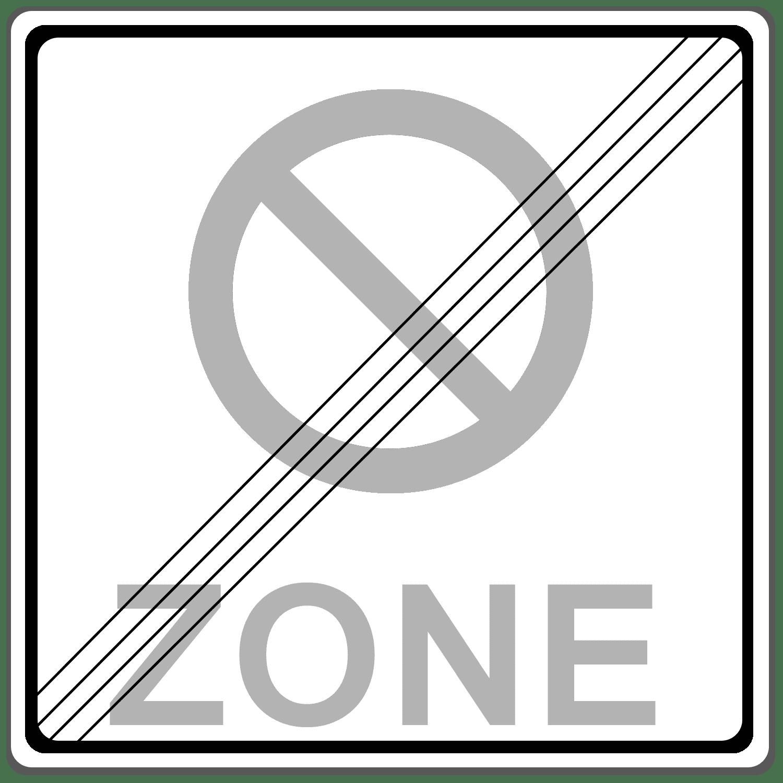 Verkehrszeichen 290-2