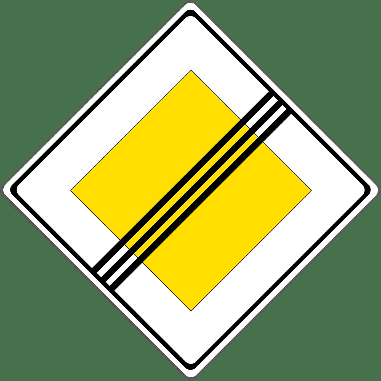 Verkehrszeichen 307