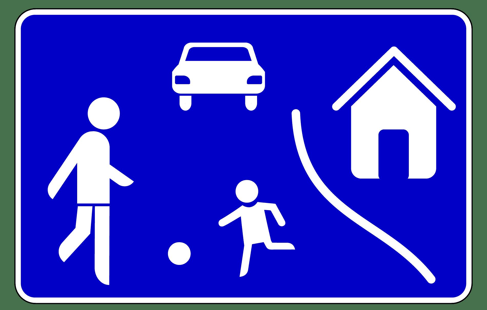 Verkehrszeichen 325-1