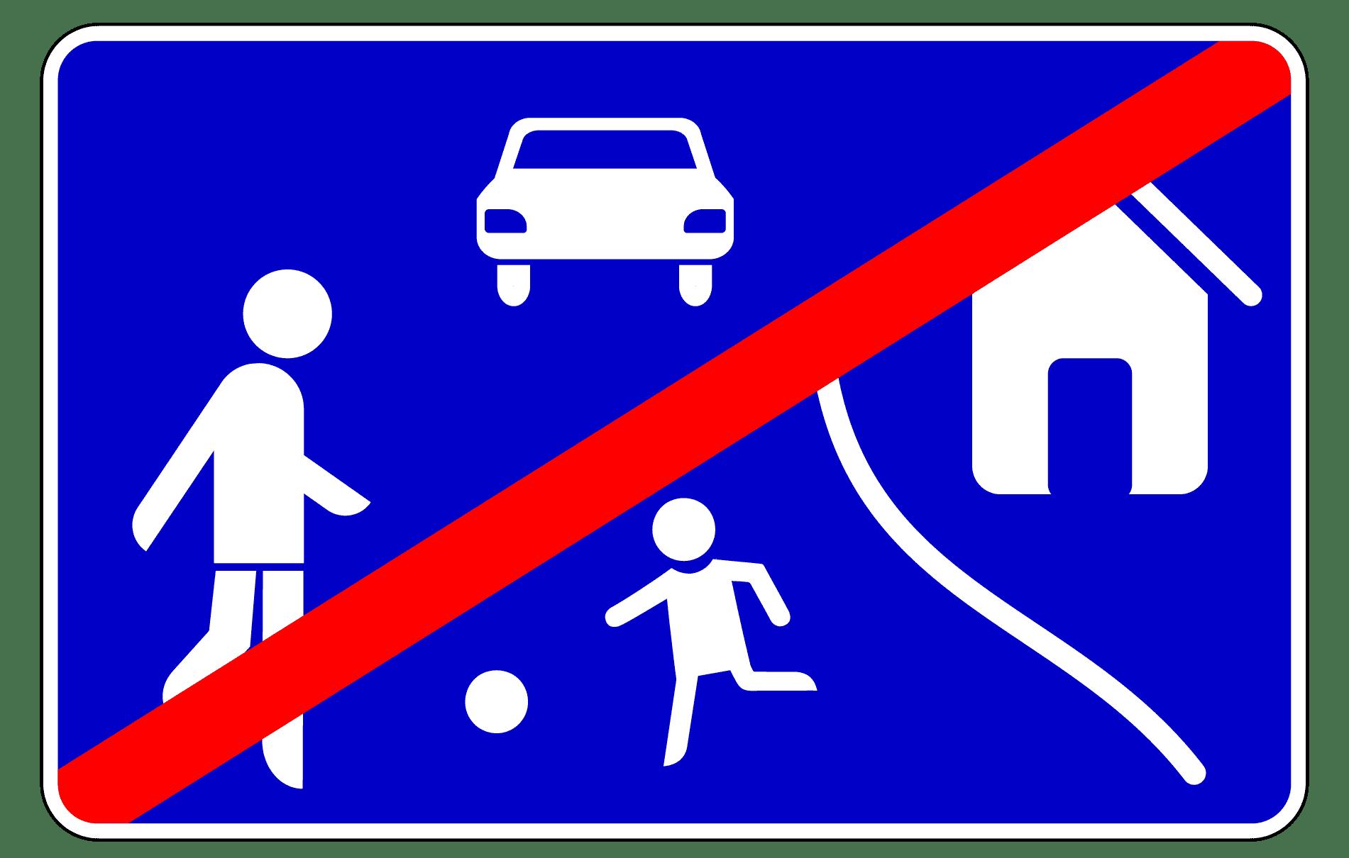 Verkehrszeichen 325-2