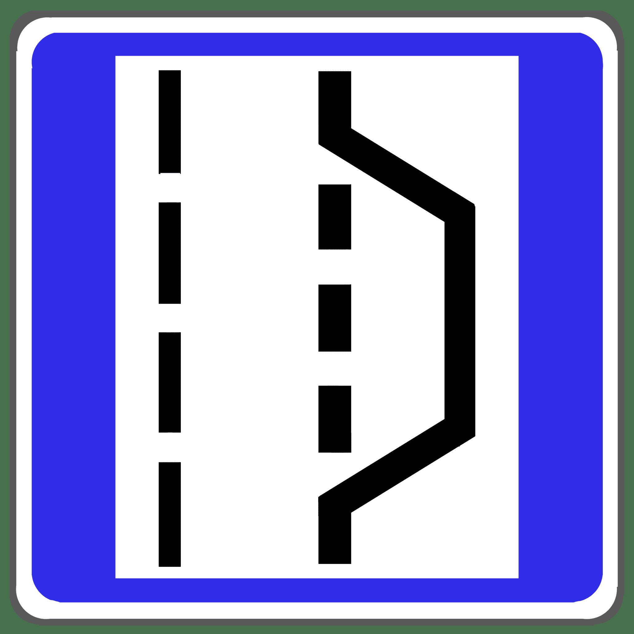 Verkehrszeichen 328