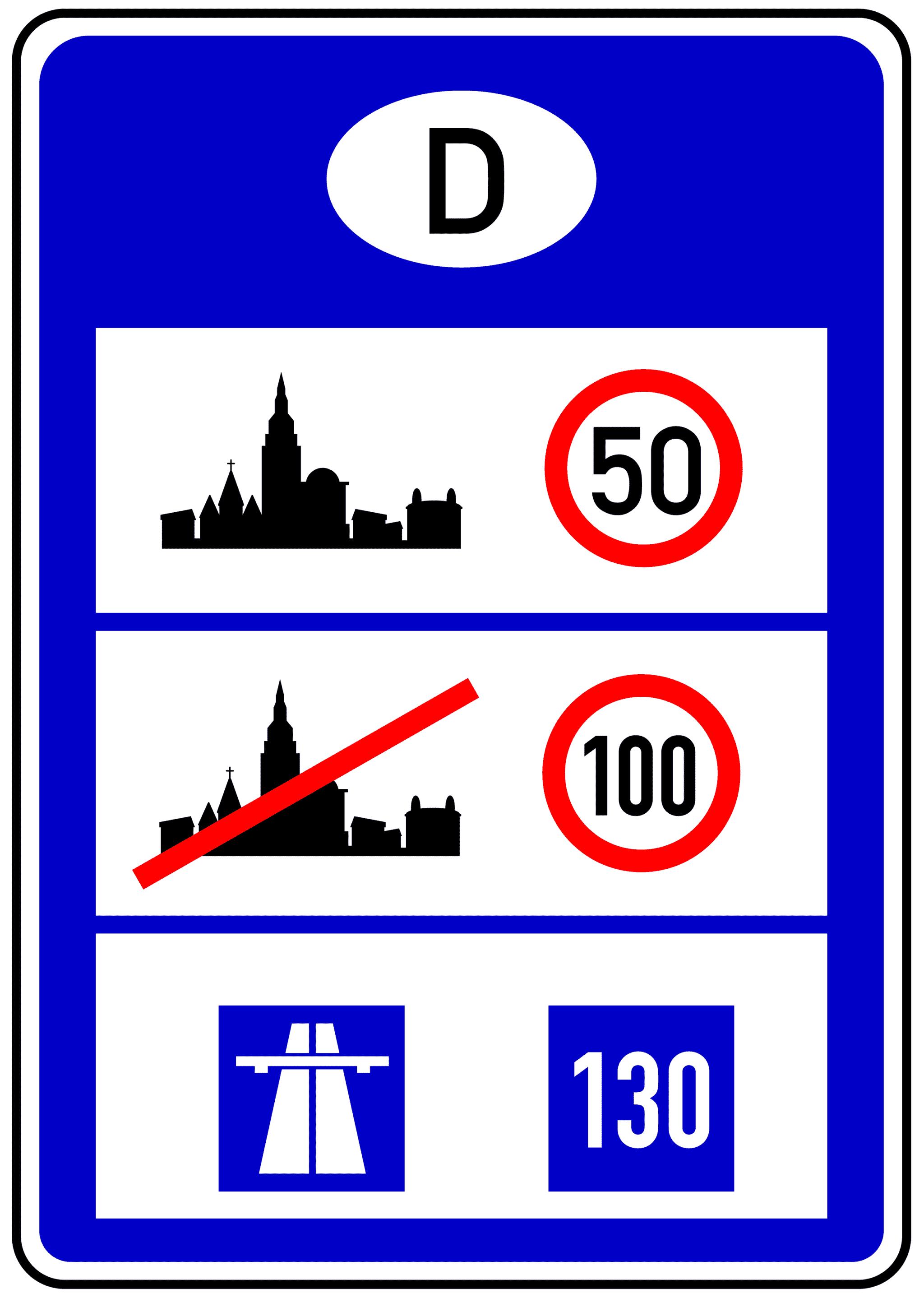 Verkehrszeichen 393