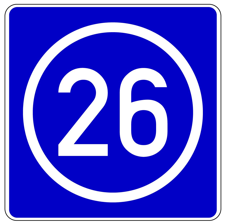 Verkehrszeichen 406