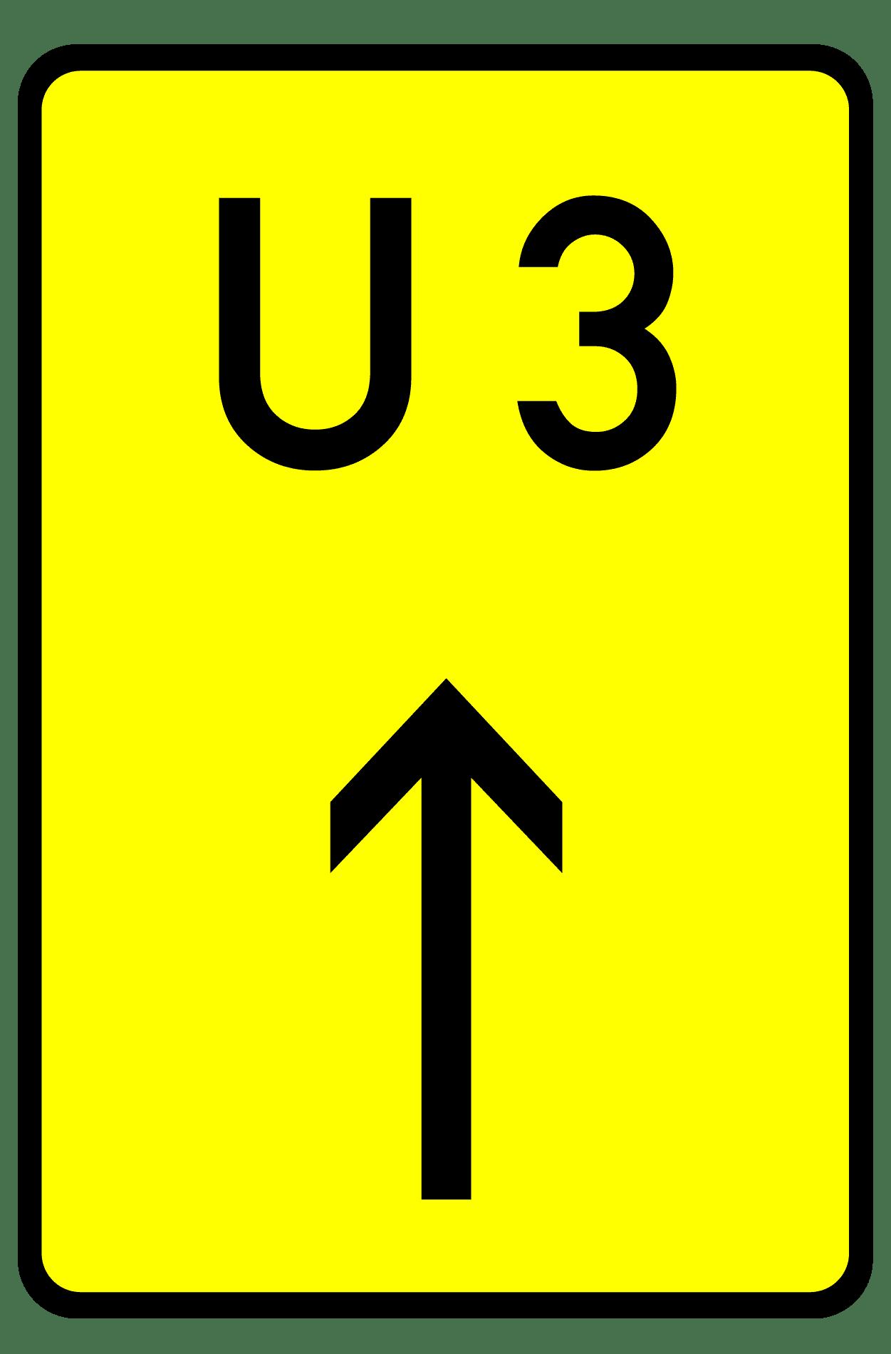 Verkehrszeichen 455