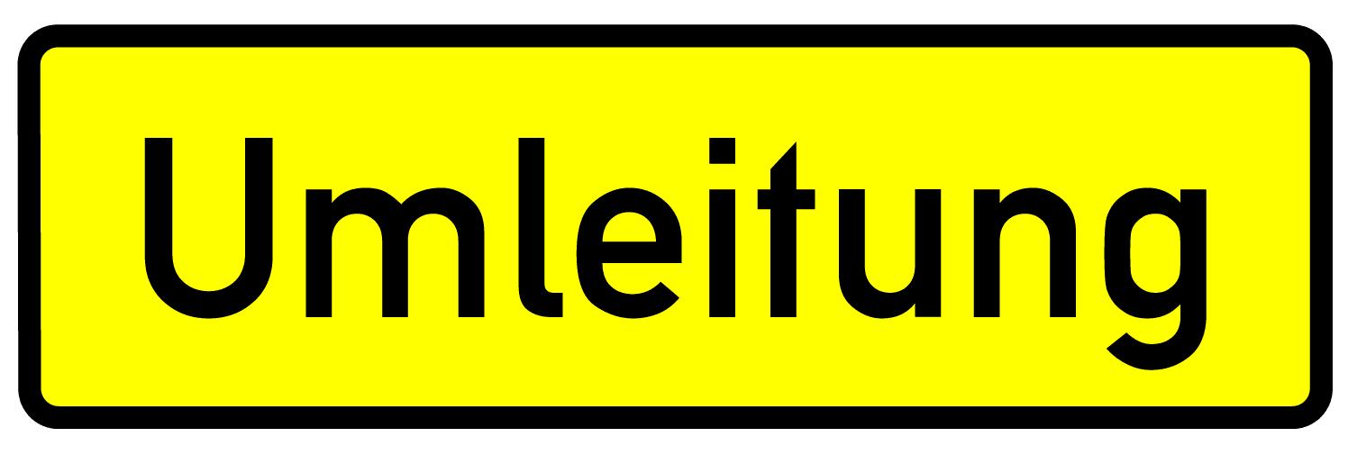 Verkehrszeichen 457-1