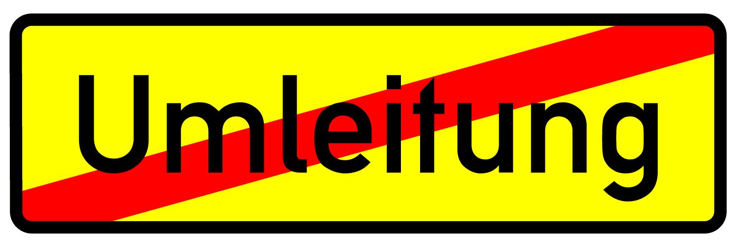 Verkehrszeichen 457-2