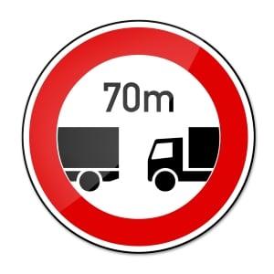 Bei der Abstandsmessung wird überprüft, ob der Sicherheitsabstand eingehalten wird.