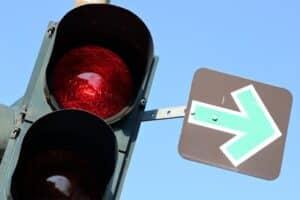 Auffahrunfall bei roter Ampel
