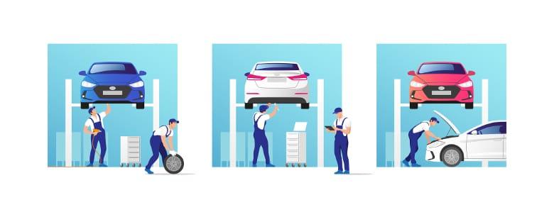 Ob Lkw-, Motorrad- oder Autotuning: Baulich lässt sich an Fahrzeugen eine Menge verändern. Einige Beispiele für Tuning-Maßnahmen finden Sie im Folgenden.
