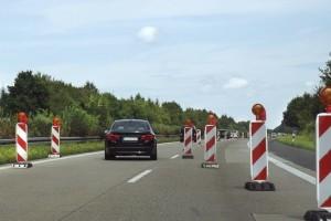 Eine Baustelle kann für Fahrer schnell ärgerlich werden.
