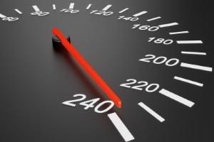 Bis zu welcher Geschwindigkeit kann man geblitzt werden?
