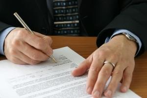 Bußgeldbescheid: Auch ohne eine Unterschrift ist der Bescheid gültig.