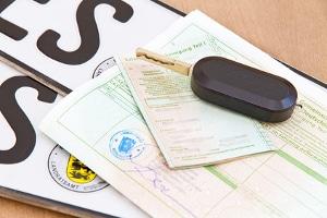 Angabe im Fahrzeugschein: Die CO2-Effizienzklasse ist im Fahrzeugbrief nicht zu finden.