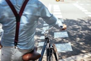 Darf man betrunken sein Fahrrad schieben?