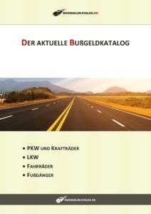 Ab wie viel km/h zu schnell droht Strafe? Der aktuelle Bußgeldkatalog als PDF verrät es Ihnen.
