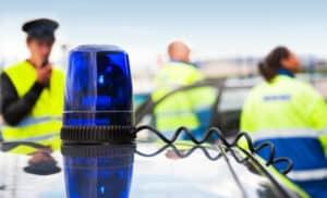 Mann überfahren - tödlicher Verkehrsunfall