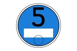 Euronorm 5: Eine hellblaue Plakette könnte zukünftig eingeführt werden.