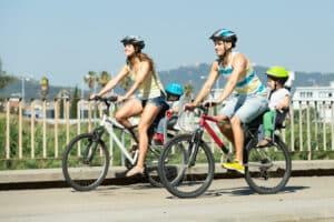 Fürs Fahrrad gilt keine Geschwindigkeitsbegrenzung.