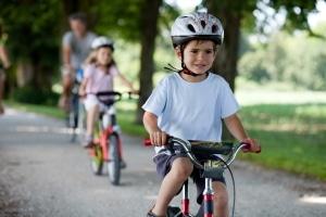 Die Fahrradprüfung stellt einen wichtigen Schritt in die Selbstständigkeit dar.