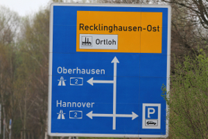 Zur Ausbildung in der Ferienfahrschule gehört auch die Autobahnfahrt.