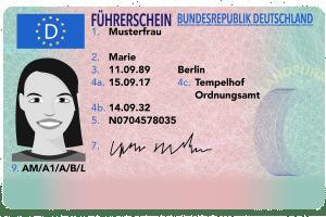 Das Führerscheinfoto dient der Identifizierung des Fahrerlaubnisinhabers.