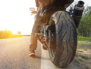Der Geschwindigkeitsindex gilt auch für Motorradreifen.