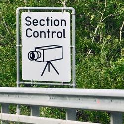 Section Control ist eine Methode der Geschwindigkeitsüberwachung.
