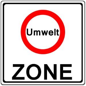 Freie Fahrt für Grün: Die Plakette ermöglicht ein Einfahren in die Umweltzonen.