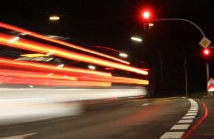 Haben Sie die Haltelinie überfahren, ist ein Rotlichtverstoß ebenfalls möglich.