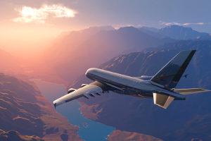 Der Krankenrücktransport ist unter anderem per Flugzeug möglich.