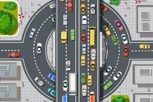 Wie müssen Sie sich in einem Kreisverkehr verhalten?