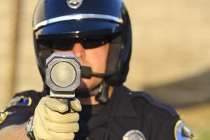 Beim Laser Patrol handelt es sich um ein mobiles Lasermessgerät.