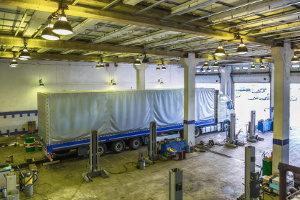 Lkw-Fahrverbot: Am Sonntag müssen die Lastkraftwagen in der Garage bleiben.