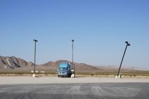 Die Gebühren der Lkw-Maut werden auch für Rastplätze erhoben.