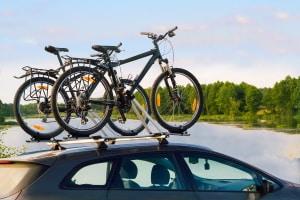 Mehrverbrauch. Fahrradträger können einen erhöhten Kraftstoffbedarf bedeuten.