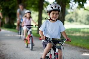 Früh übt sich: Radfahrer dürfen keine rote Ampel überfahren.