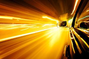 Der RIEGL-Scanner misst die Geschwindigkeit per Lichtimpuls.